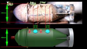 Les premières images du type de bombe chimique utilisé dans les attaques au sarin en Syrie